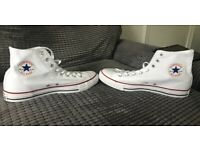 Converse. All Star. Optical White. Size 10. Brand New. In box.