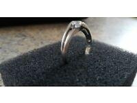 Beautiful 0.50 ct Diamond engagement ring- white gold