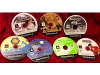 Bundle of 7 PS2 GAMES £5 the Lot
