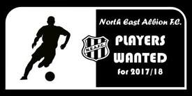 Football players wanted to complete squad