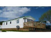 Beautiful caravan with panoramic views for hire in stunning Dumfries & Galloway.