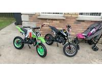 Mx bikes crf,yzf,rmz. Honda Susuki Yamaha Kim