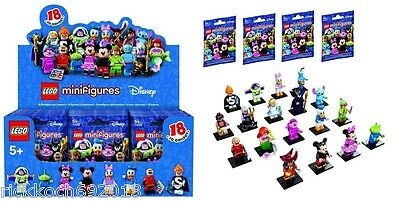 Complete Set Factory Sealed LEGO DISNEY MINI FIGURES 18 Characters series #71012