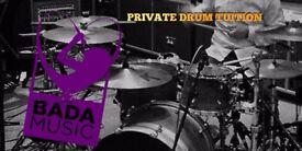 **DRUM LESSONS** Professional drum tuition with, BADA. Brighton's newest artist development academy.