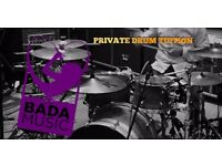 **DRUM LESSONS** Professional drum tuition with, BADA. Brighton's newest artist development academy.