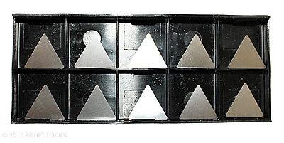 Rishet Tools Tpg 322 C5 Uncoated Carbide Inserts 10 Pcs