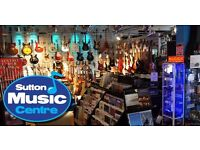 Full time Sales Assistant for a family run independent Music Instrument store and Music Academy