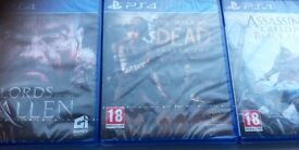 Three playstation4 games £20