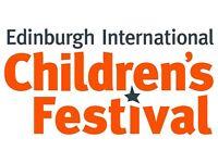 Edinburgh International Children's Festival volunteering opportunity