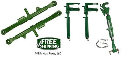 3 Point Hitch - Top Link Lift Arms Adjustable Uprights - John Deere 720 730