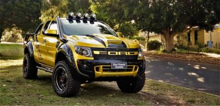 2014 Ford Ranger XLT  4x4 Super Cab Monster Truck Welshpool Canning Area Preview