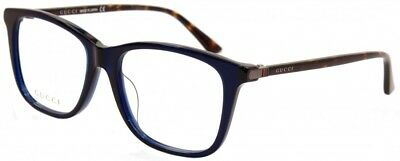 Gucci Fassung Brille Glasses GG0018OA 003 Etui