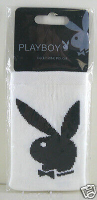 PLAYBOY CALZA RIPARA CELLULARE IPHONE PLAY BOY BIANCO O NERO IDEA REGALO