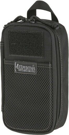 Maxpedition MXPT1312B Compact Black Skinny Pouch Bag Pocket Organizer
