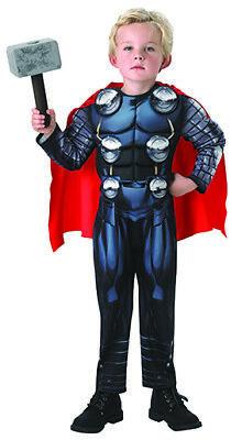 Thor Avengers Kostüme (Thor Avengers Assemble Deluxe Kostüm Set für Kinder)