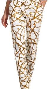 Michael Kors Chain-Detail Pattern Pants NWT St. John's Newfoundland image 7