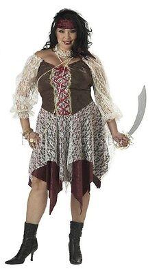South Seas Siren Plus Size Adult Pirate - Women's Plus Size Pirate Costume