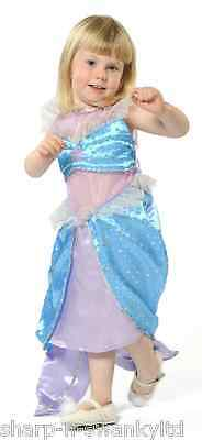 Girls Blue Little Mermaid Princess Book Day Fancy Dress Costume Outfit 3-10 yrs](Little Girl Sailor Costume)