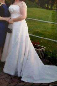 Size 20-22 wedding dress