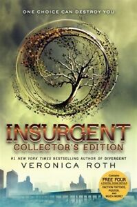 Veronica Roth- Divergent  Series (now a Movie) 3 hardcovers