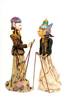 Wooden puppets from Java
