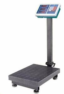 NEW DIGITAL 660 LBS FLOOR SCALE RECHARGEABLE BATTERY PORTABLE WIRELESS