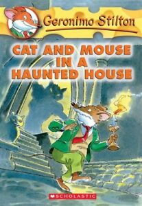 GERONIMO STILTON #3 - CAT AND MOUSE IN A HAUNTED HOUSE PAPERBACK