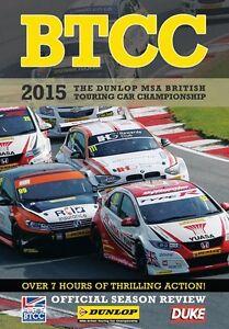 BTCC British Touring Car Championship - Official Review 2015 (2 DVD set) New