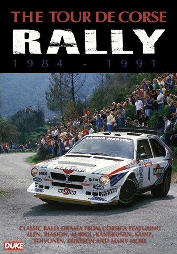 The Tour De Corse Rally 1984 - 1991 (New DVD) Rallying Toivonen Auriol Sainz