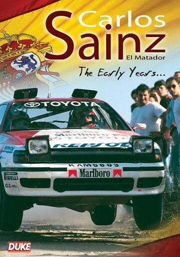 Carlos Sainz el Matador - The Early Years (New DVD) WRC World Rally Rallying
