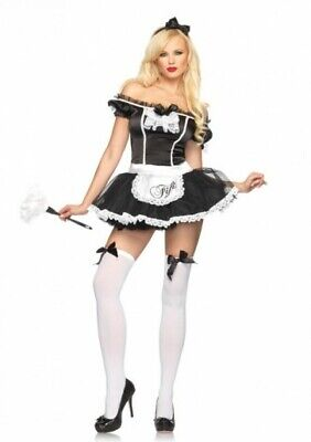Fifi French Maid Costume (LEG AVENUE FRENCH MAID FIFI ADULT COSTUME VARIOUS SIZES BRAND)