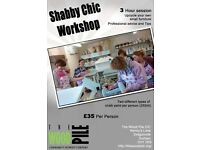Shabby Chic Workshop at The Wood Pile next available courses: 3rd December 2016, 4th February 2017