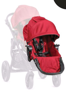 Baby Jogger City Select Second Seat Kit Second siège - Red Rouge
