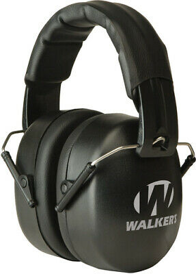 Walkers Gwp-exfm3 Ext Range Padded Headband Earmuffs Hearing Protection Shooting