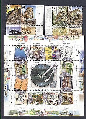 ISRAEL 2011  COMPLETE YEAR SET WITH S/SHEETS MNH on Rummage