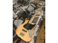 Squier Vintage Modified 70s Jazz Bass Natural
