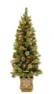 pre lit potted christmas tree - Small Pre Lit Christmas Tree