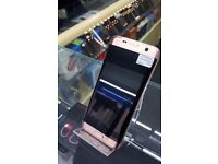 = WITH RECEIPT = SAMSUNG GALAXY S7 EDGE 32GB Pink Gold Unlocked*** Fully Boxed