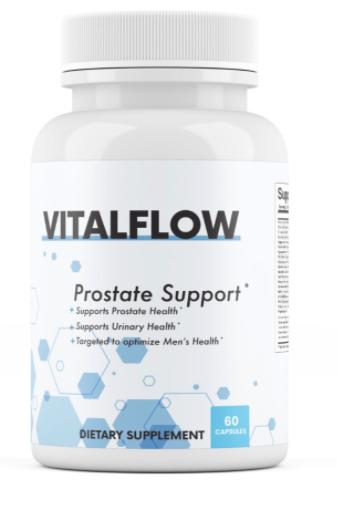 VitalFlow Prostate Support Formula Supplement 60 Capsules