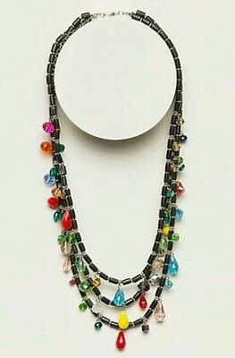 TS TAKING SHAPE Highland Fling Necklace faceted beads jewellery jewelry NEW!