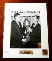 Jean Beliveau Autographed Montreal Canadiens THANKS GORDIE 8x10
