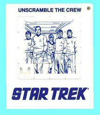 Star Trek Slide Puzzle  Original Crew