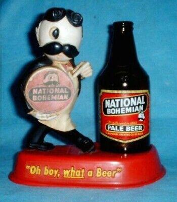 NATIONAL BOHEMIAN BEER MR. BOH STATUE