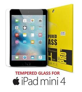 NEW IPAD MINI 4 TEMPERED GLASS - 112620479 - Tempered Glass Screen Protector for Apple iPad Mini 4  2.5D - 9H