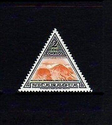 NICARAGUA - 1947 - VOLCANO - SAN CRISTOBAL - TRIANGLE - MINT - MNH SINGLE!