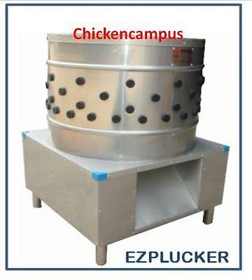 New Ez-178 Ezplucker Stainless Steel Chicken Plucker De-feather Machine