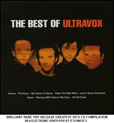 Ultravox - Very Best Greatest Hits Collection - RARE 80's Synth Pop CD Midge