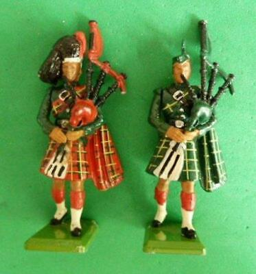 48mm Britains Ltd Black Watch Pipers x 2 STR04