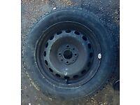 Choice of 4 x Spare / steel wheels plus tyre 4x98 stud pattern
