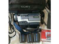 Sony trv325e handycam digital 8 camcorder